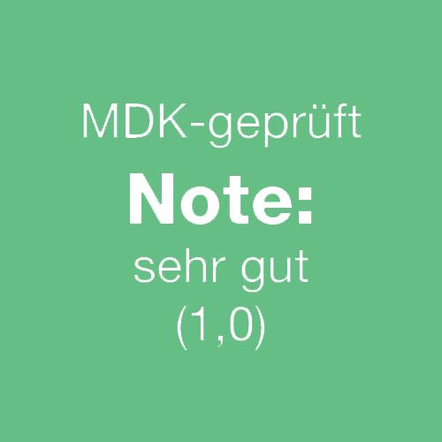 Pro Human - Ambulanter Pflegedienst in Hameln MDK Note 1